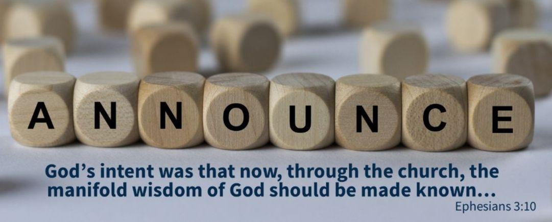 CCC 2020 - Ephesians 3:10